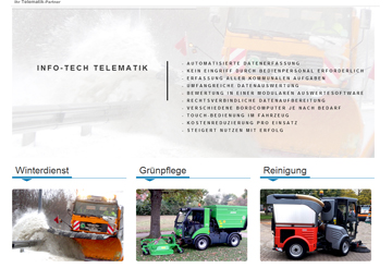 info-tech solutions Webseite